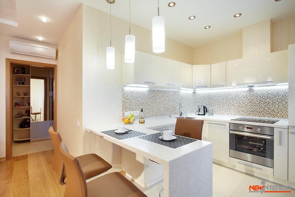 Дизайн интерьера двухкомнатной квартиры 50 кв м