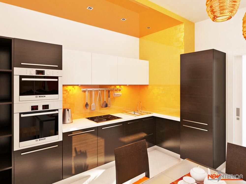 Кухня 10 м2 дизайн