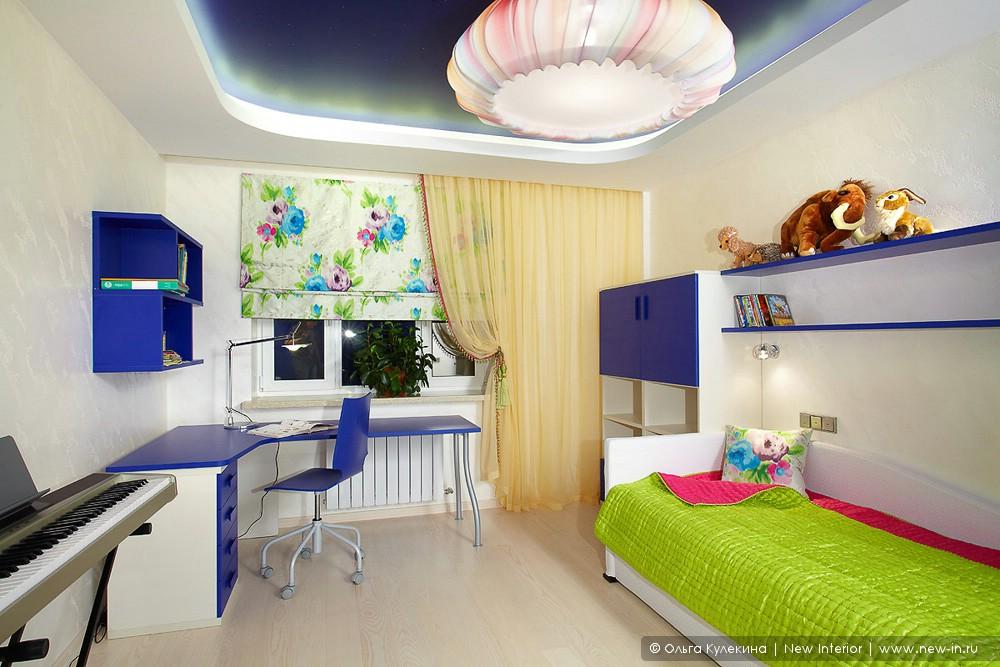 Детские комнаты в квартире дизайн в